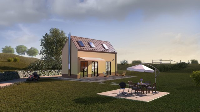 Slunný rodinný dům Homing B.3