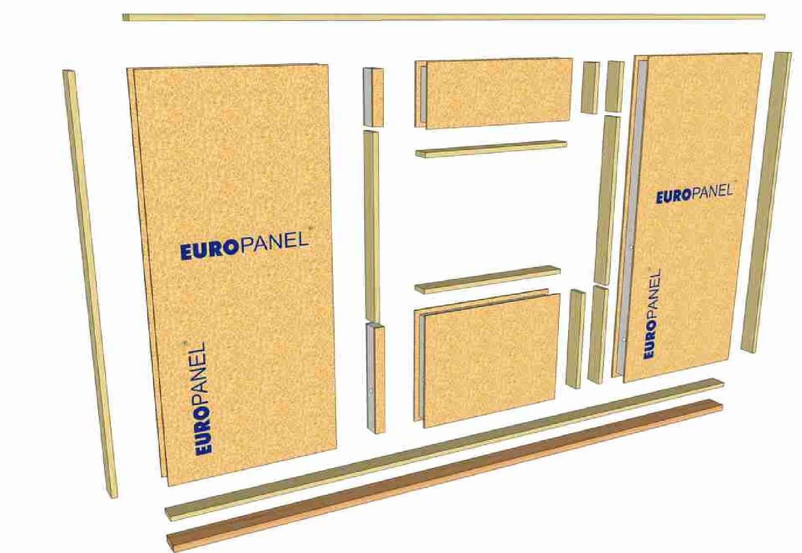 Nosné prvky stropu - model | Homing.cz